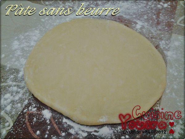 pâte à tarte sans beurre la dolce vita