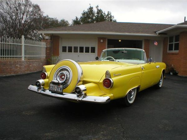 FORD Thunderbird RECENTLY REBUILT 292 1955 6