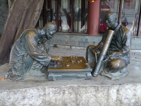 05 Kunming un des bronzes dans la rue