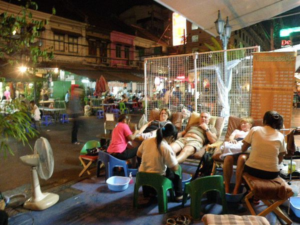 Khao San Road massage de rue