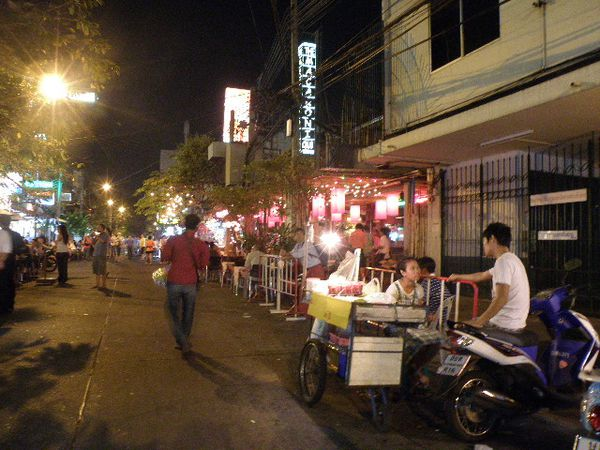 Khao San Road vente ambulante