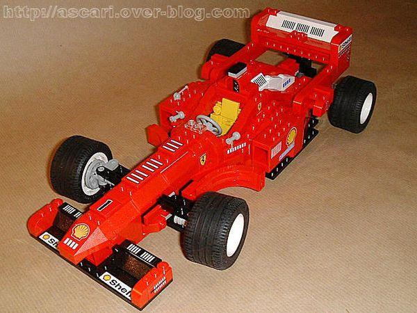 1-12 Ferrari F310-2 Lego 2