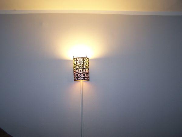 Lampe du séjou - troisième vie - Le canet de Jimidi - Pho