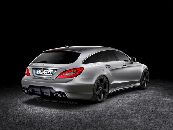Mercedes-Benz CLS63 AMG Shooting Brake AR