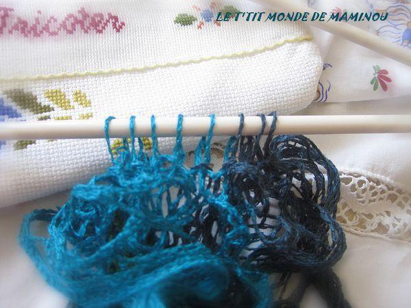 comment tricoter la laine katia triana