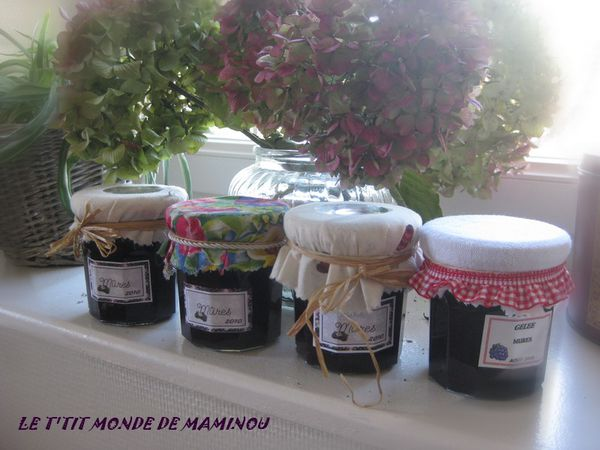 CONFITURE MURES 8