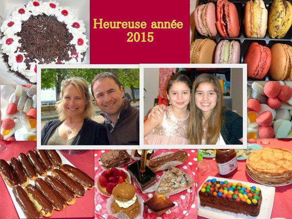 heureuse année 2015