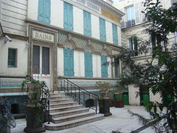 Les bains odessa de montparnasse mon paris banlieue for Les bains a paris