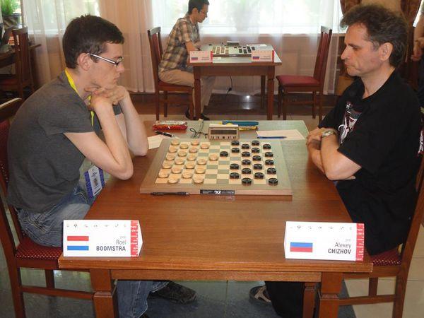 FINALE R1 - Roël Boomstra - Alexei Tchizov 1-1