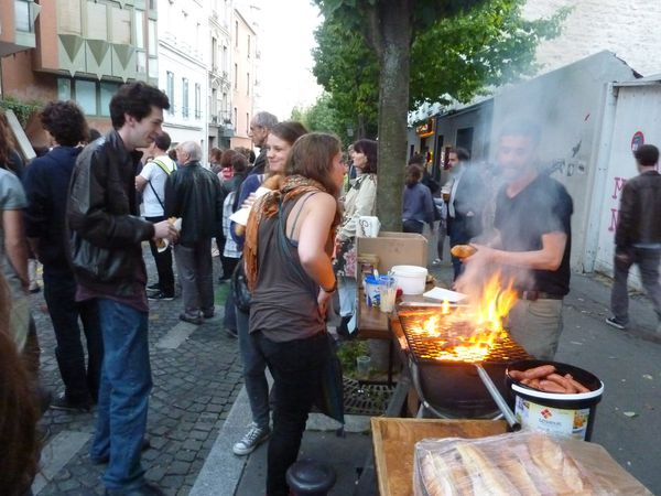 Barbecue sur la butte