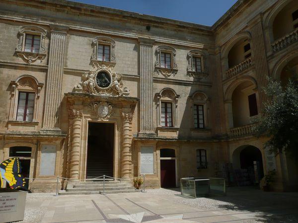 MDINA - Palais de Vilhena