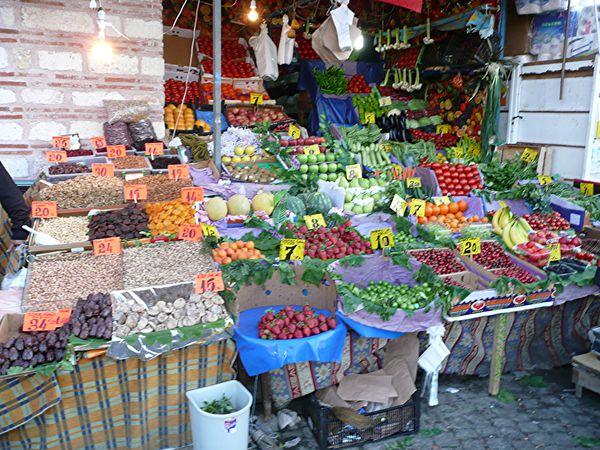 bazar égyptien - fruits & légumes