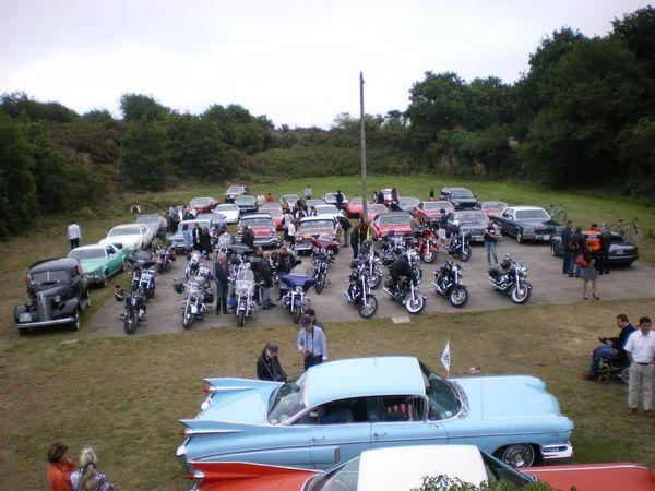 rassemblement voitures américaines Arzon 072