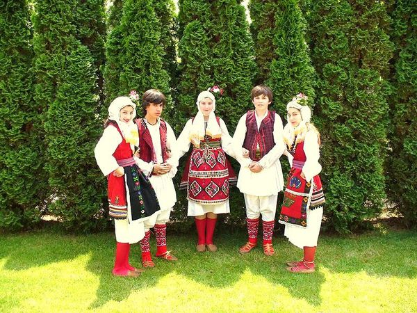 Costumes traditionnels de skopje