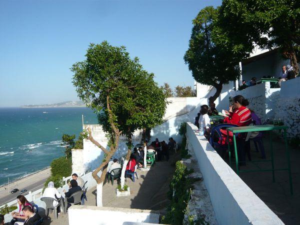 Tanger Café HAFA © Bernard Moutin 20110001