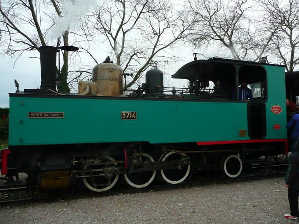 petit train de la baie de Somme