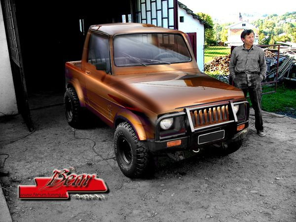 Suzuki Samurai by Bear