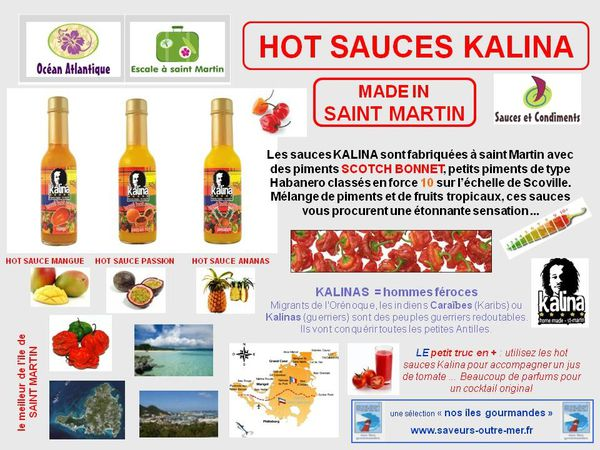 hot sauces saint martin