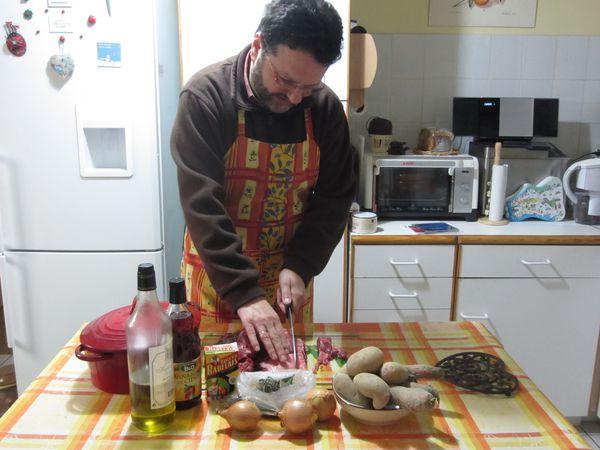 Mijot e de joue de boeuf en cocotte par z poux le blog - Cuisiner une joue de boeuf ...