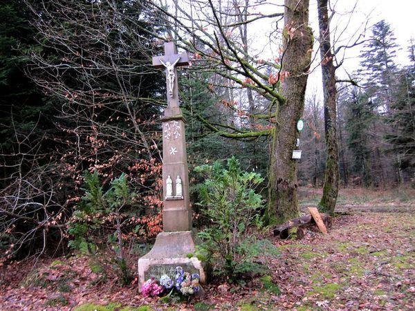 B05 - Walscheid - croix Hengsbourg - Beimbach - Hohwalsch -