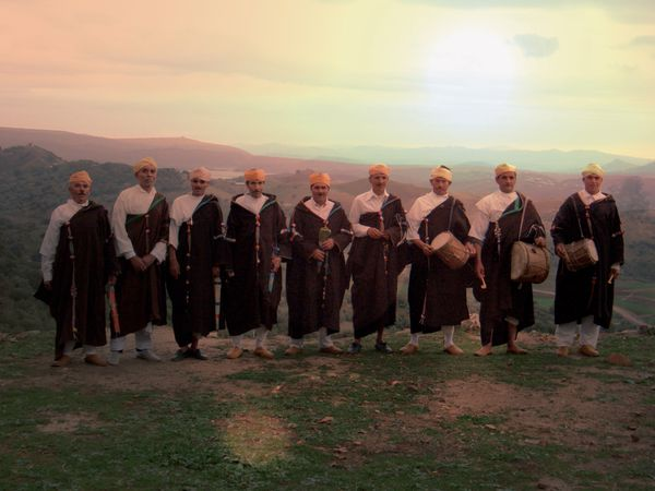 """Boujeloud dancing with Aisha Kandisha"" - The Master Musicians of Jajouka"