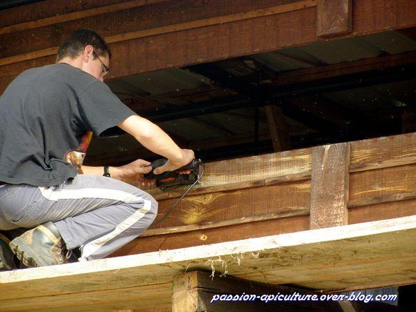 Réparation rucher (2)