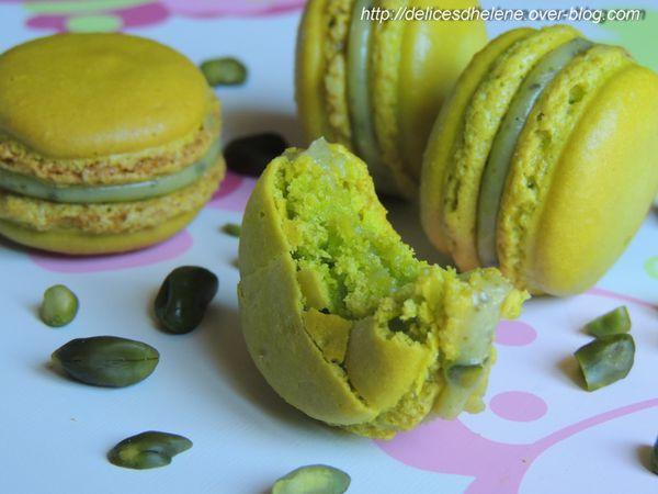 macarons pistache (5)
