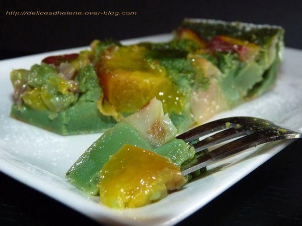 clafoutis pêches-pistache (2)