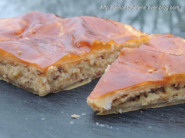 galette des rois aux noisettes et pommes caramélisées (4)