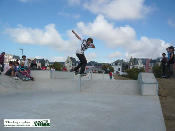 SDV Inauguration Skatepark Mers les Bains 2 aout 2010 Front