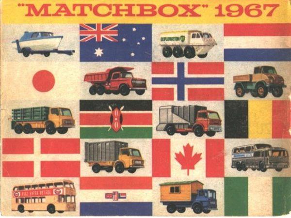 catalogue matchbox 1967 p40