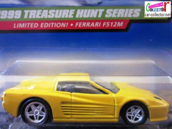 ferrari 512m thunt collector 933 1999