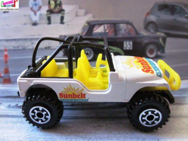 off road racer jeep sunbelt snacks & cereals