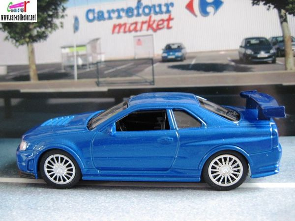 nissan Skyline GTR R34 go4 collection de voitures sport (3)