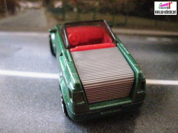 opel frogster matchbox voiture cabriolet convertible