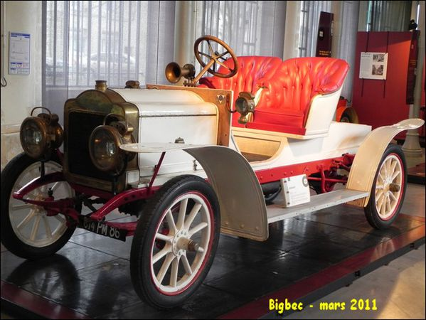 Voiture BROUHOT - 4 cylindres