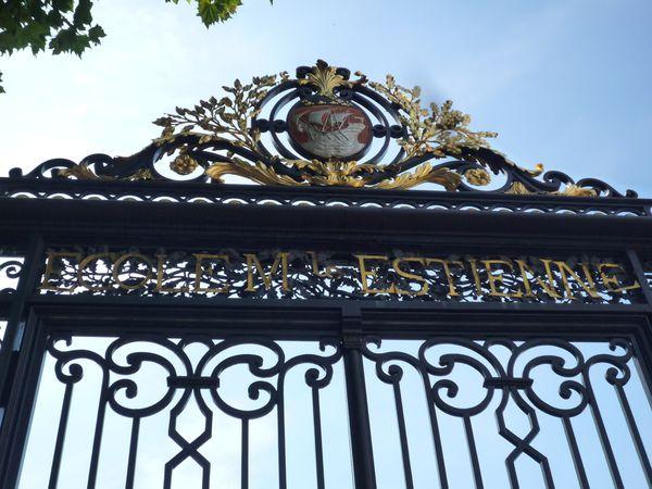 Grille d'entrée Ecole Estienne - Bd Auguste Bianqui
