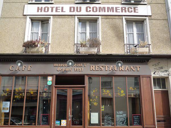 Hôtel du Commerce - rue des Cinq Diamants
