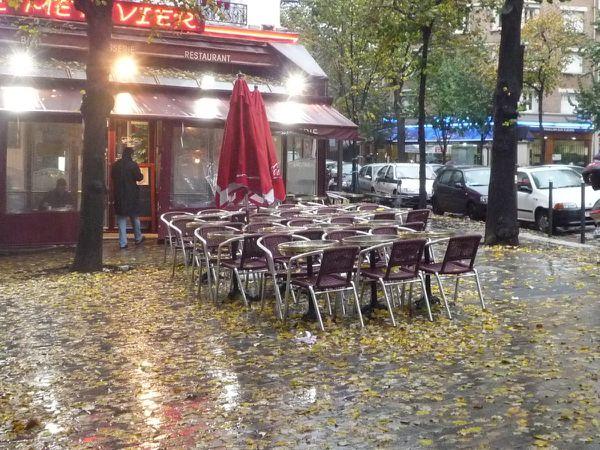 Pluie sur Ménilmontant