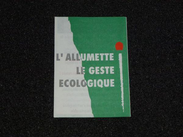 Eric CAMA Allumette écologique (3)