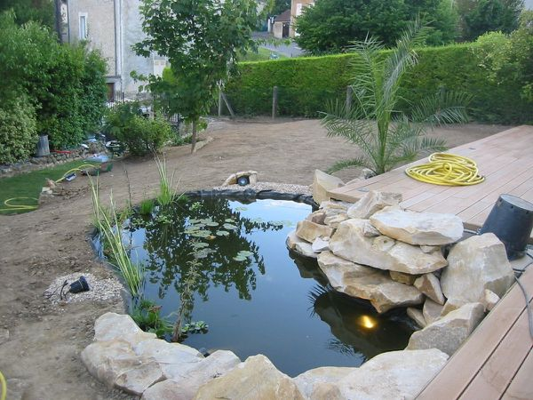 Jardin paysagiste conception cr ation entretien lagage for Cloture bassin poisson