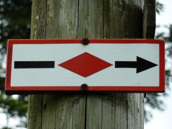 Westweg E1 Wanderweg