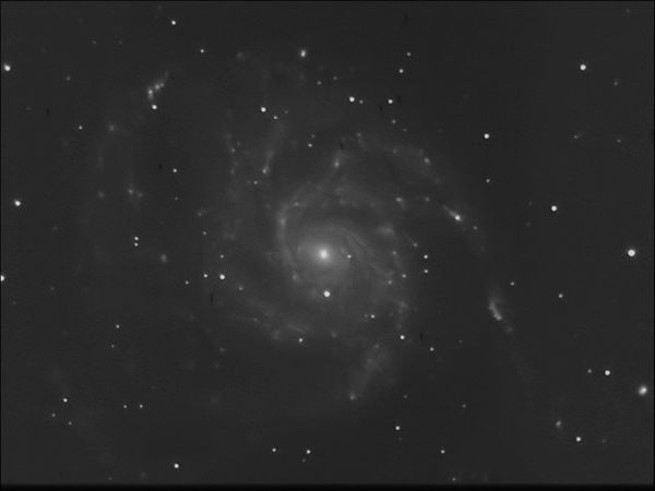M101 dss filtered