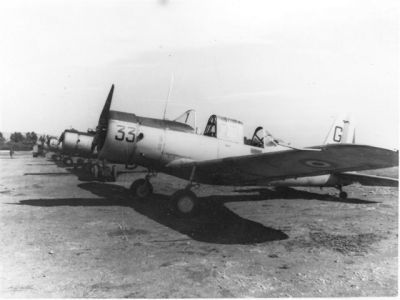 Photo 11 Vultee BT 13 BA Meknes 1952