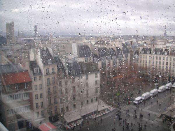 Paris depuis le Centre Pompidou (5)
