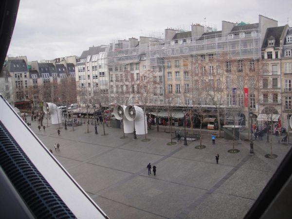 Paris depuis le Centre Pompidou