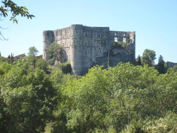 château d'Alba Ardèche