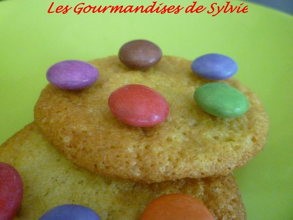 Cookies aux Smarties 2
