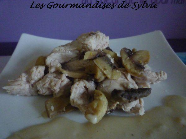 Escalope de dinde à la crème d'oignon tm31 2