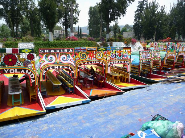 Mexico Barges Xochimilco